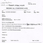 Patient Report (before treatment)