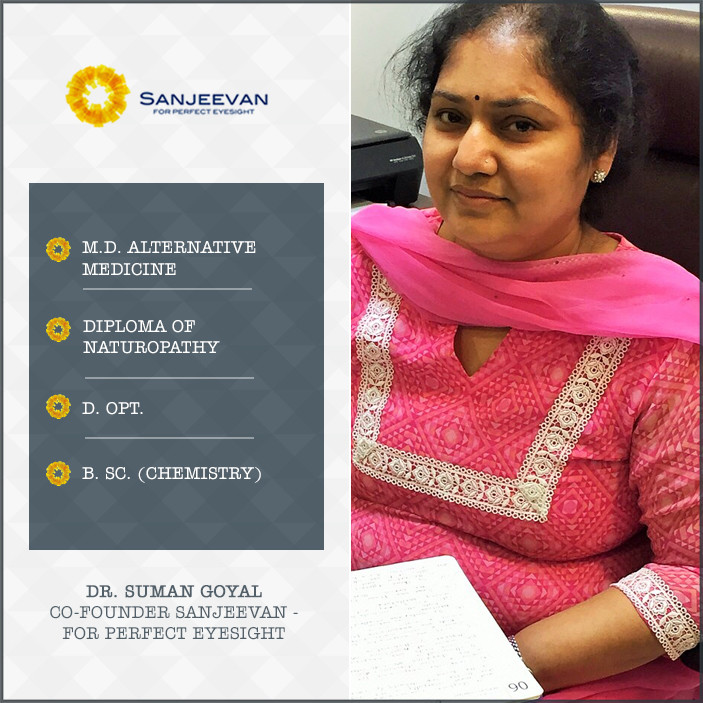 Dr. Suman Goyal - Co-founder, Sanjeevan - For Perfect Eyesight